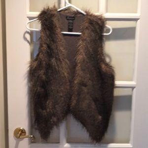 Ella Moss Kennedy Faux Fur Vest